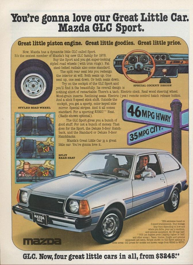 1978 Mazda GLC Sport