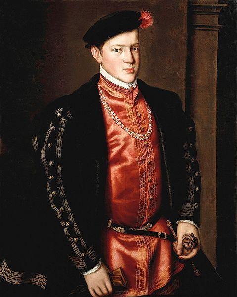 João, Prince of Portugal; Antonis Mor, 1552