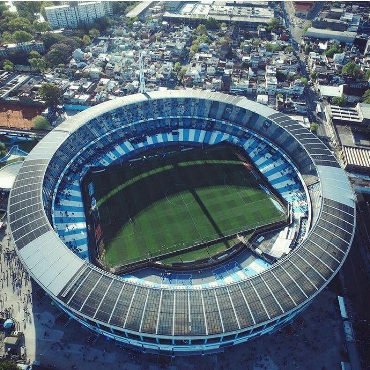 """Estadio """"Presidente Perón"""".  El Cilindro Mágico de Avellaneda. El Coliseo de cemento. Mi lugar en el mundo."""