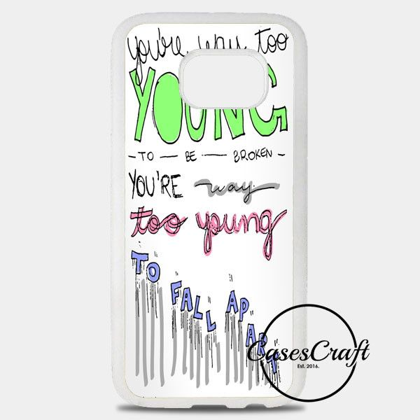 3Oh!3 IM Not The One Lyric Cover Samsung Galaxy S8 Plus Case | casescraft