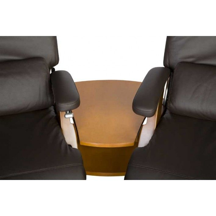 Setting Up A Home Theater With Multiple Perfect Chairs? The Spanner Wedge  Table Is Designed