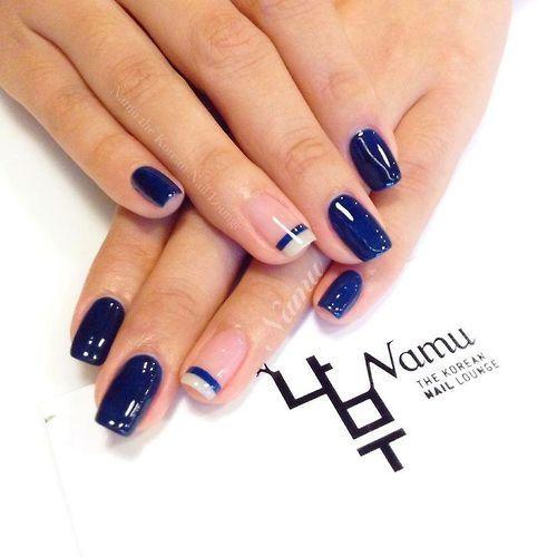 Beautiful Photo Nail Art: 32 Beautiful Korean Nail Art Designs for 2015