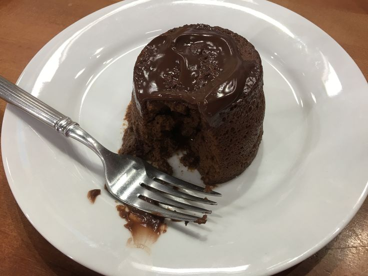 Chocolate Lava Cake - Joy Bauer only 150 calories