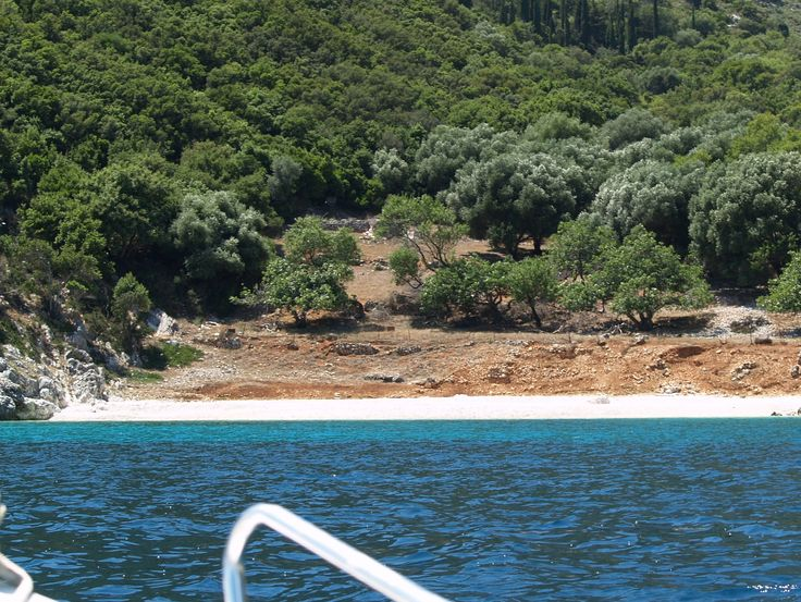 private beach north of #agiaefimia accessible only by boat #piece of heaven #kefalonia