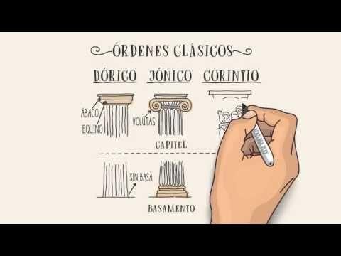 Los Órdenes Clásicos (Dórico, Jónico y Corintio) - YouTube