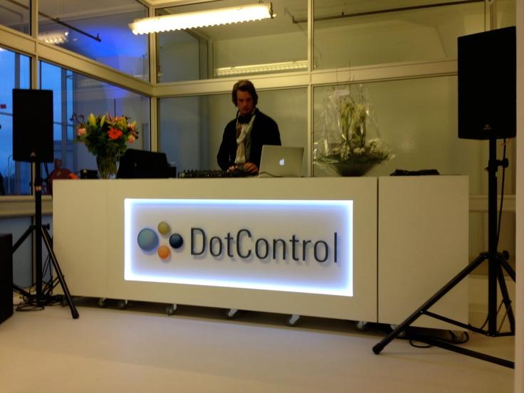 Balie in action @ DotControl van Nelle fabriek
