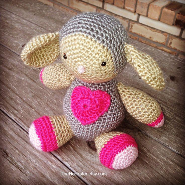 Crochet Amigurumi Animal - Baby Lamb - 11 inch Stuffed Animal - Baby Safe Toy - Baby Gift - Plush Toy - Handmade Baby Lamb - READY TO SHIP by TheHookster on Etsy