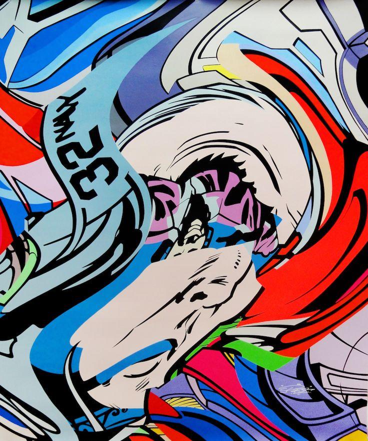 PRO176 - MAD SCIENTIST - GALERIE ZIMMERLING & JUNGFLEISCH  http://www.widewalls.ch/artwork/pro176/mad-scientist/ #Painting