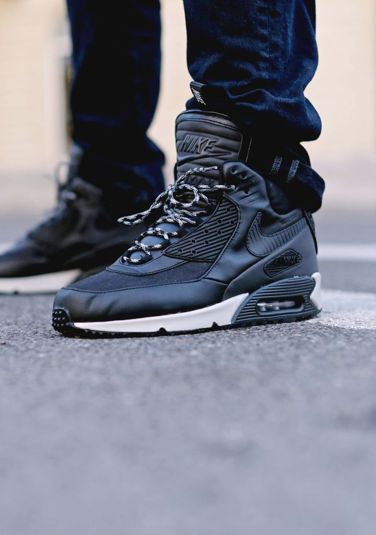 "Nike Air Max 90 Sneakerboot ""Black/Magnet Grey"""