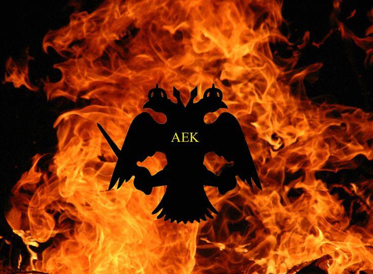 Aek fire logo