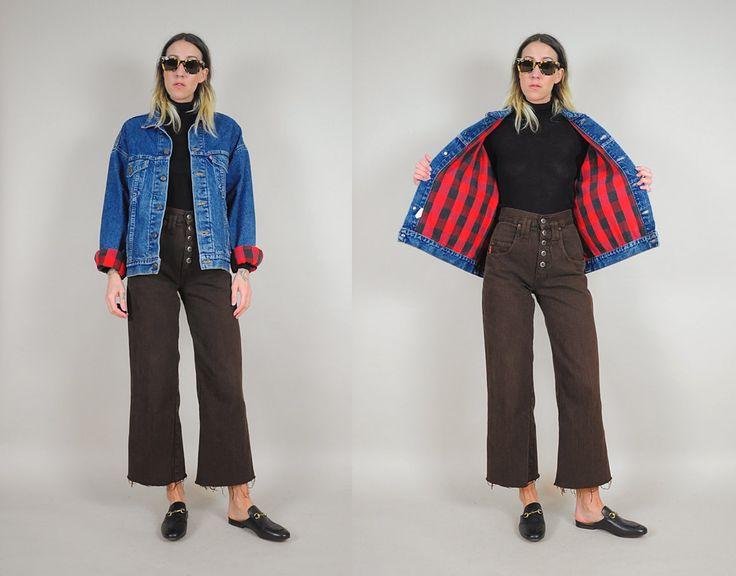 Levi's Flannel Lined Jean Jacket