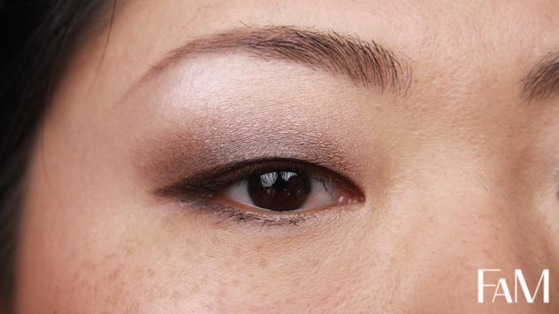 My current everyday makeup with Mac Satin Taupe for asian monolid eyes - Makeup tutorial #mac #satintaupe