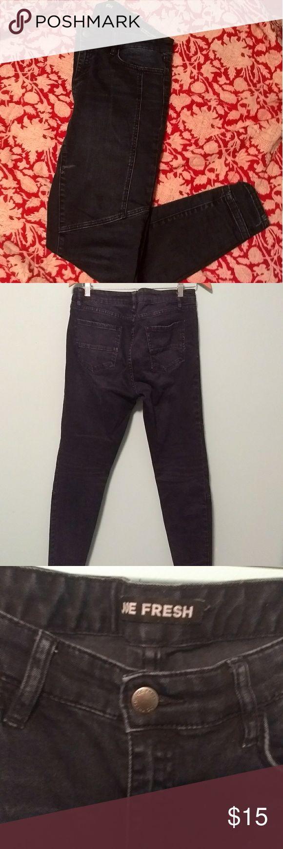 Joe Fresh Moto Jeans Size 28 Moto Jeans by the lovely Joe Fresh.   Barely worn, excellent condition. Good quality thick denim. Joe Fresh Jeans Straight Leg