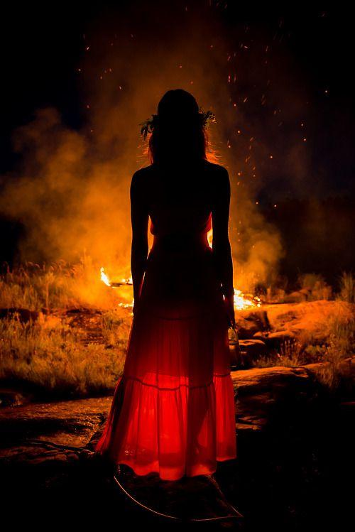 Hechizo en los fuegos de Beltane