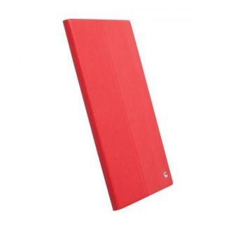 Wysokiej jakości etui do tabletu Xperia Tablet Z marki Krusell. Etui jest bardzo cienkie, więc nie dodaje urządzeniu objętości. Precyzyjnie wycięte otwory zapewniają bezproblemowy dostęp do wszystkich funckji i złączy urzadzenia. Etui po złożeniu może pełnić fukcję podstawki.  Produkt w kolorze czerwonym.