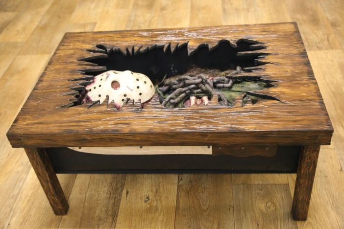 Jason Voorhees Coffee Table is the Ultimate Conversation Piece