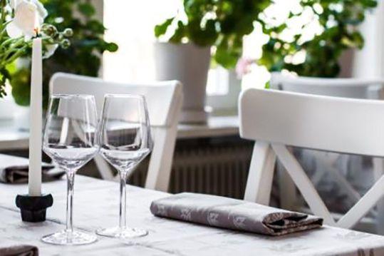 Restaurang: Wij Trädgårdskök i Trädgårdens Hus med närproducerad mat, ekologiskt, köksträdgård