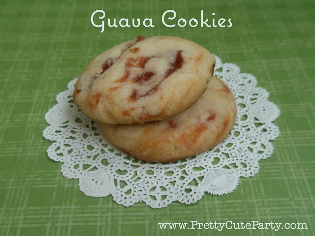 Guava Cookie Recipe by Pretty Cute Party