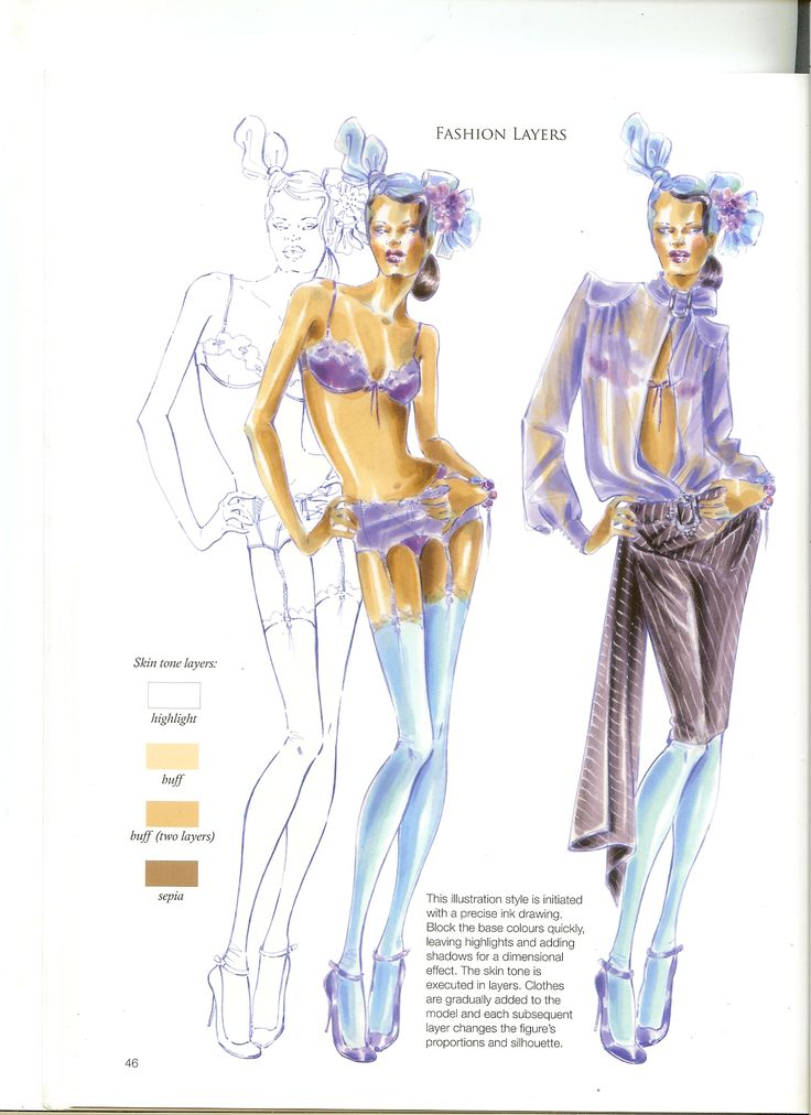 Fashion Illustration: Inspiration and Technique: Anna Kiper: - Pesquisa Google