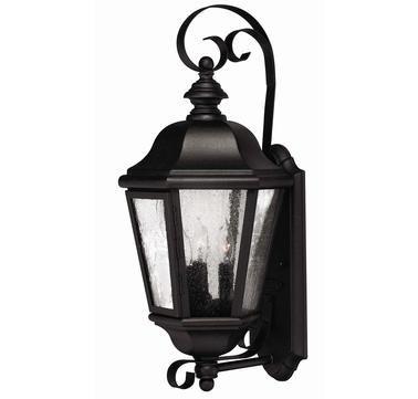 Hinkley Lighting Edgewater 3 Light Outdoor Wall Lantern Energy Star Compliant No
