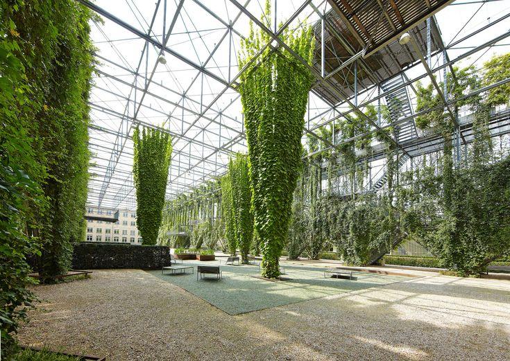 MFO Park, vertical garden, Zurich