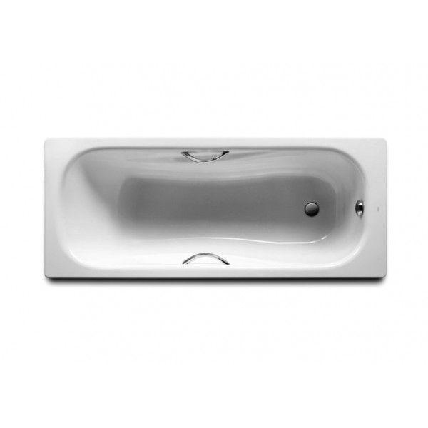Ванна стальная Roca Princess 170х70 + ручки + ножки