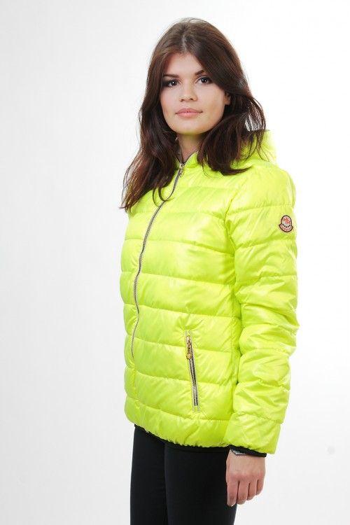 Куртка ХМ001 Размеры: 48 Цвет: лимонный Цена: 1275 руб.  http://optom24.ru/kurtka-khm001/ #одежда #женщинам #куртки #оптом24