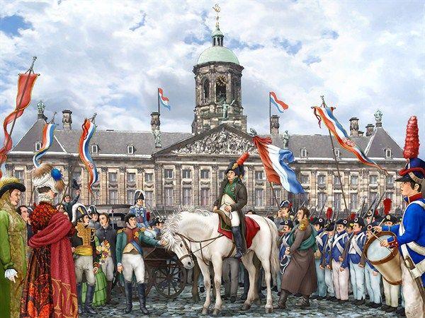 Vensterplaat: Napoleon Bonaparte
