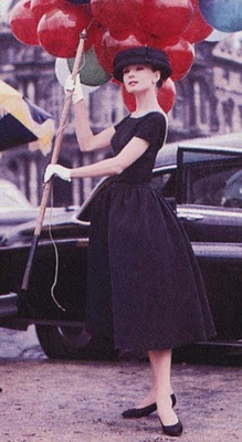 Jo (Audrey Hepburn) - Funny Face (to see more, click the pic)
