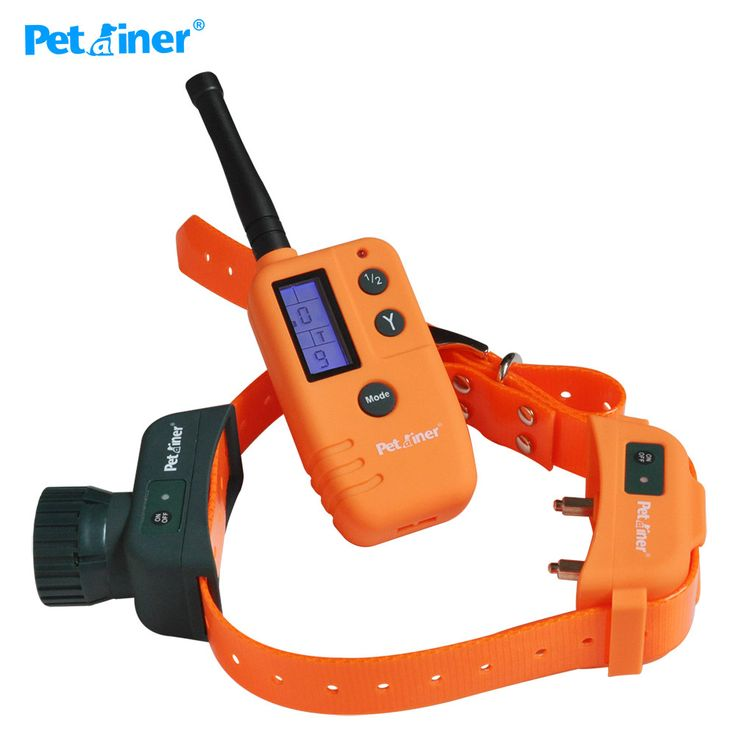 Petrainer 910 Real Waterproof Rechargeable LCD Electronic Shock Remote Dog Training Collar Electric Training Collar Pet Trainer