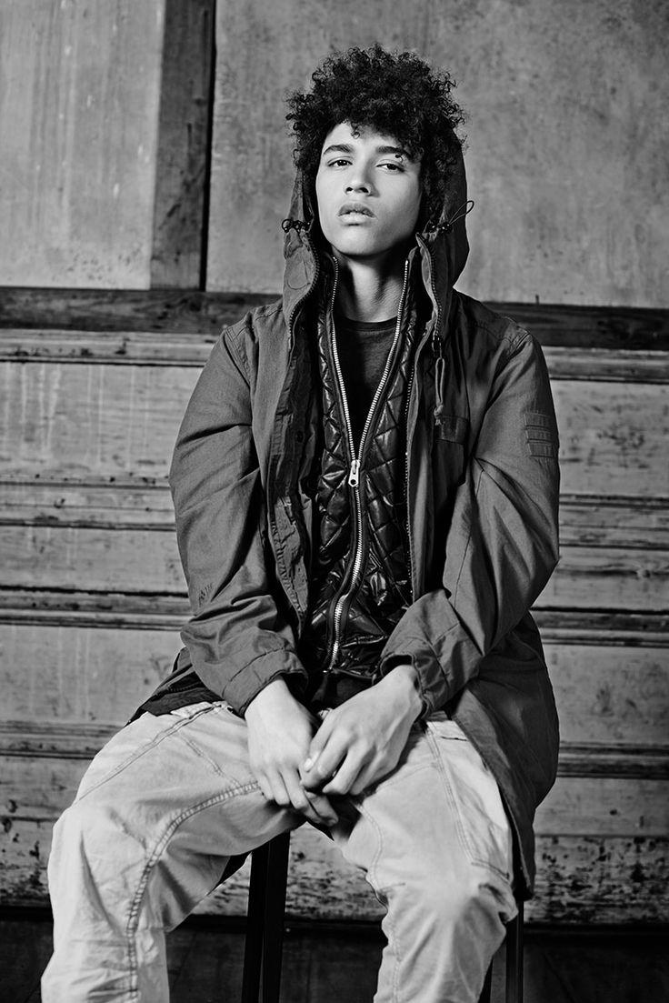 G-Star RAW Fall/Winter 2015 Menswear  Lookbook