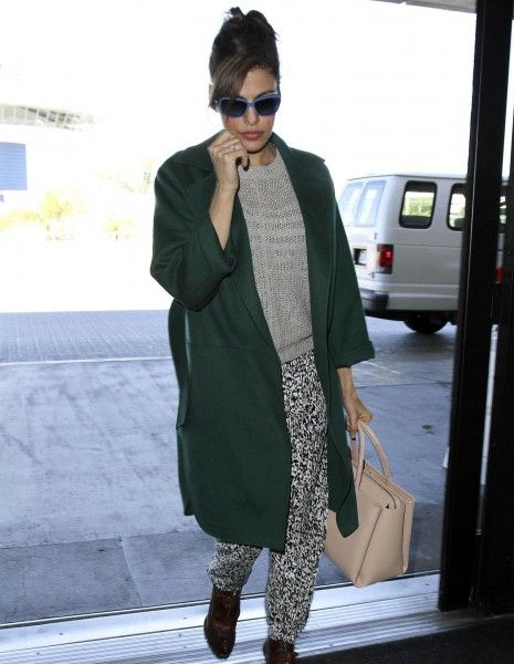 Eva Mendes, enceinte de Ryan Gosling ? - Elle