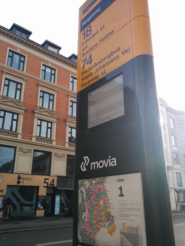 Copenhagen ePaper on busstops by colleague david  #ePaperdisplay #epapersignage #einksignage #mpicosys #busstop #epaper #eink #picosign