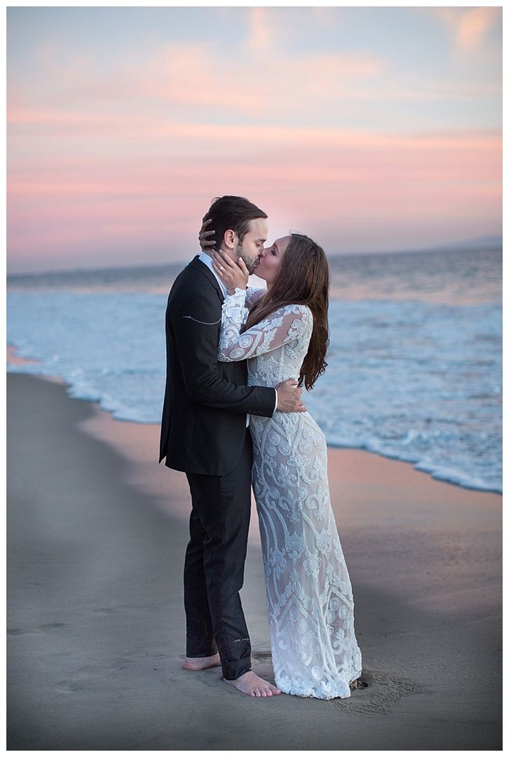Malibu Beach Engagement Session Otilia Brailoiu Dress Jana Williams Photography Janawilliamsxo