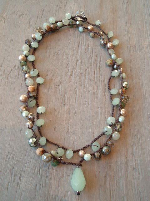 slashKnots Bohemian beaded crochet jewelry & leather | http://women-s-jewelry-250.blogspot.com