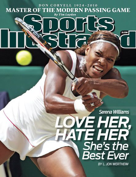 FLASHBACK: Serena Williams. #GREATNESS -- Let's not even discuss SI & their negative view of black athletes.