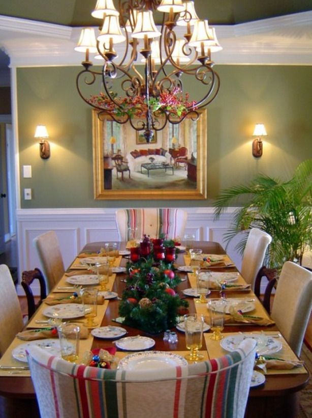 28 christmas table decorations settings. Interior Design Ideas. Home Design Ideas