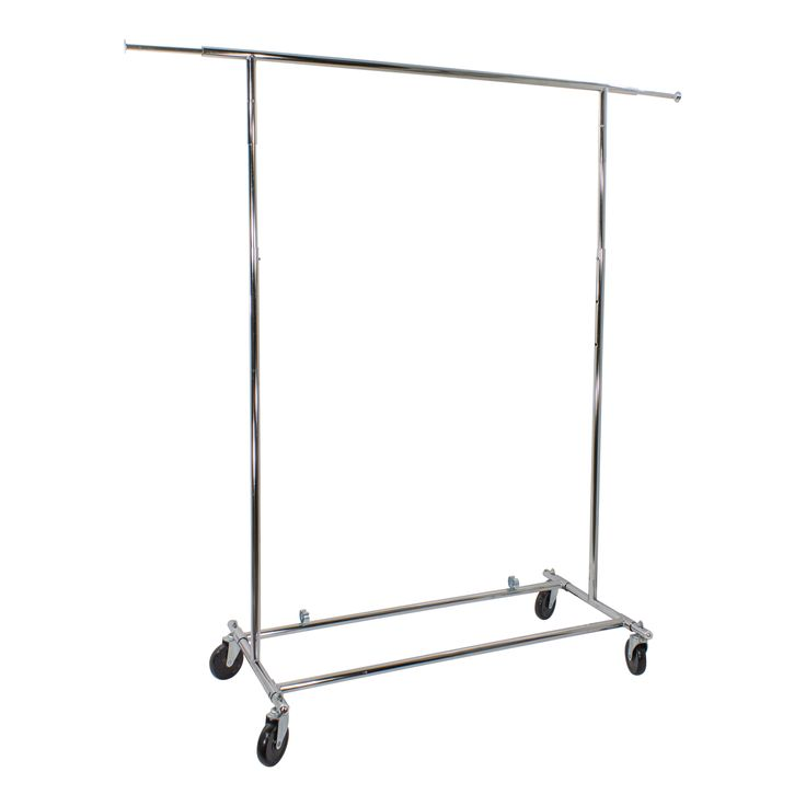 Chrome Folding Clothes Rack available from Storables.com