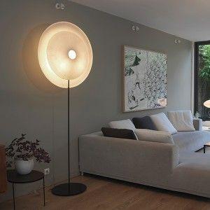 DIVA standing lamp. Designed by Celine Wright. Available on http://www.darwinshome.com/en/lighting/685-diva-standing-lamp-.html