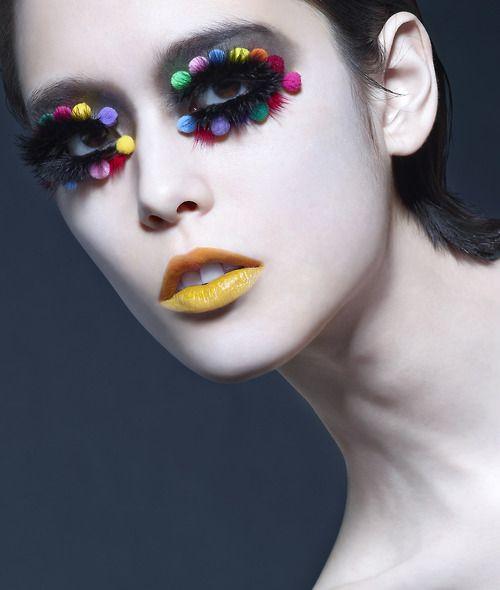STYLING Model Face <~> :: Zing for Shu Uemura 30th Anniversary - Makeup: Zing Website: www.zingmakeup.com (Famous Hong Kong Makeup Artist) / Photographer: Tim Wong