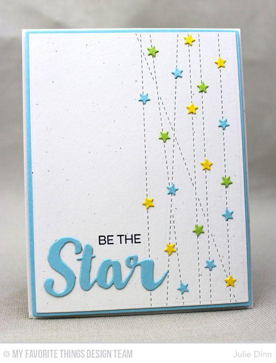 Stitched Strip Die-namics, Stars & Wishes Die-namics, Count the Stars Die-namics - Julie Dinn #mftstamps