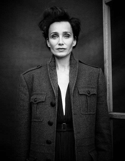Kristin Scott Thomas photographed by Matthew Brookes for InStyle