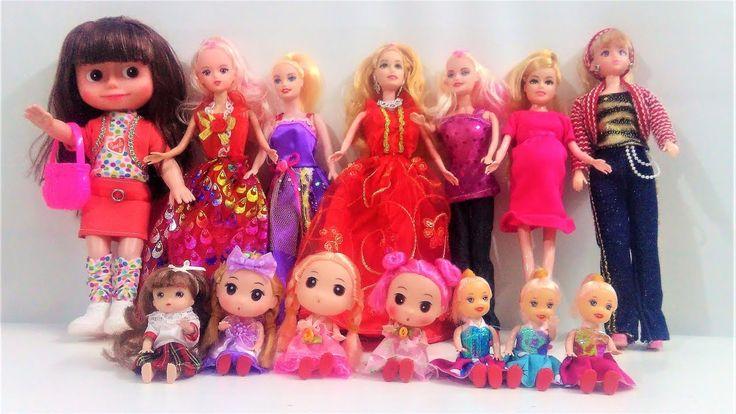 مجموعة كبيرة من لعبة العروسة الدمية فيديو مجمع العاب بنات العاب عبير Kids Toys Best Kids Toys Kids