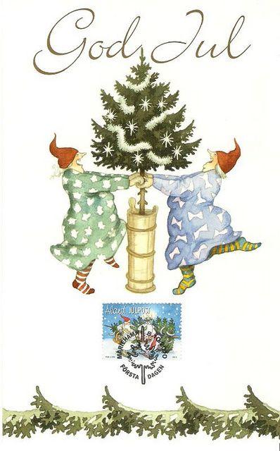 I love this Swedish Christmas card!!