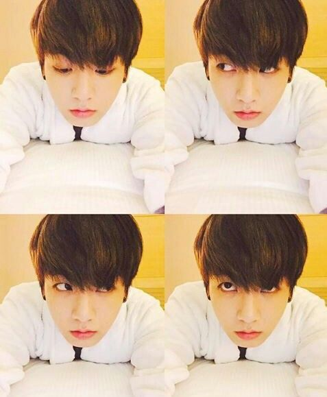 BTS || JUNGKOOK - OMO he looks so cute and sexy at the same time and I love his Selcas so much!!! #BTS #Jungkook #Jungkookie #Kookie
