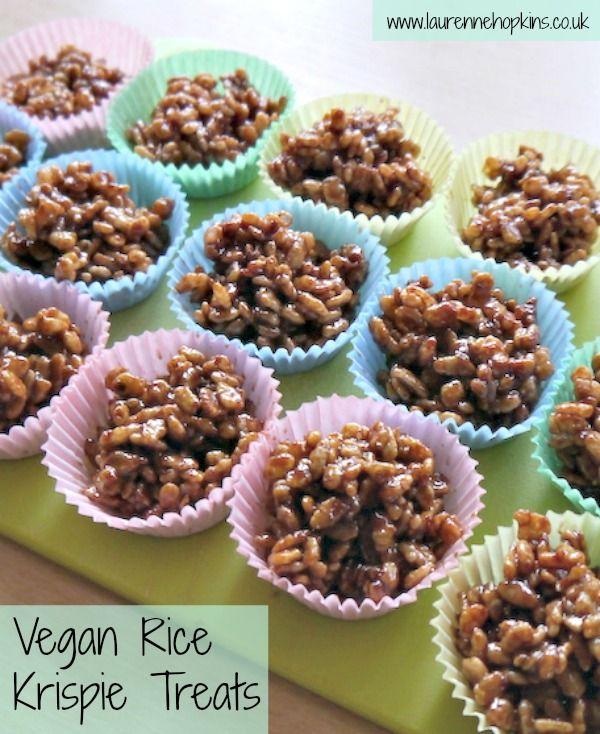Vegan Chocolate Rice Krispie Cakes / Treats - http://www.laurennehopkins.co.uk/vegan-chocolate-rice-krispie-cakes-treats/ #vegan