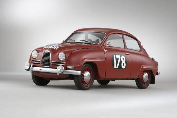 Rallye was almost as big in Sweden as in GB - maybe still? | 1960 SAAB 96 RAC CAR