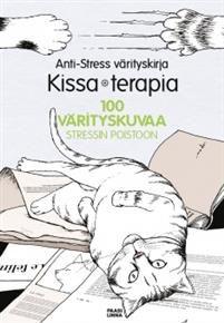 Anti-Stress värityskirja  Kissaterapia 8,90 e