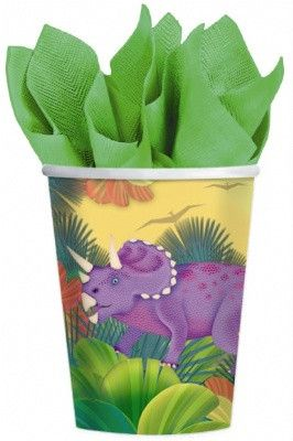 Prehistoric Party Cups