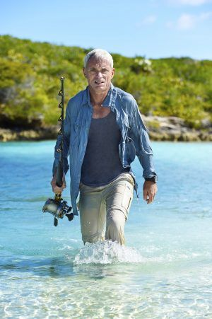 Jeremy Wade, host of River Monsters on Animal Planet.